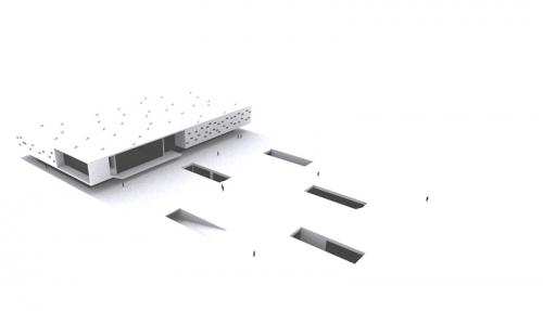 Haus der Kulturen Triest - Rendering 01